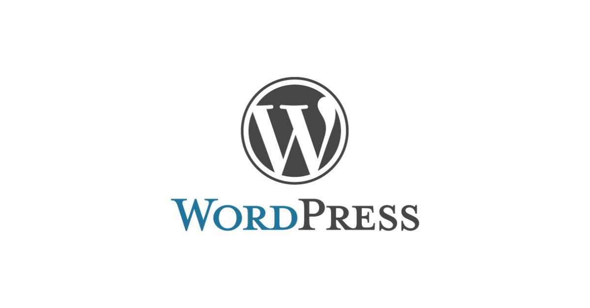 WordPress Logo OG Image